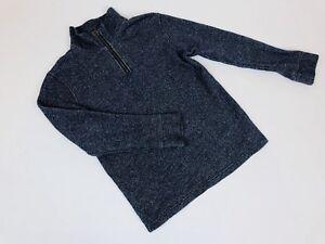 Place 1/2 Zip Blue Boys Sweater Size 7-8