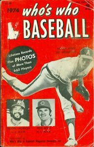 1974 Who's Who in Baseball: Nolan Ryan, Reggie Jackson, Pete Rose