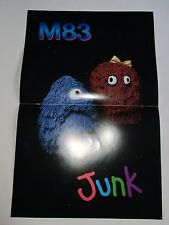 """M83  Junk  Promotional  Poster  11"""" x 17"""" NEW"""
