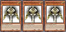 YUGIOH ORICA 3x-SET: Horakhty the Creator of Light [HANDMADE CUSTOM CARDS]