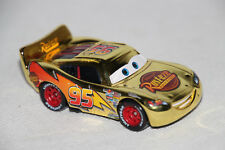 Gold Lightning 95 Mattel Cars Auto dieCast NEU unbespielt Disney Pixar