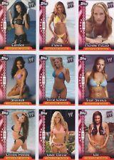 RARE! UK ONLY! Complete 12 Card Insert Set: WWE DIVAS Topps 2006 UK INSIDER