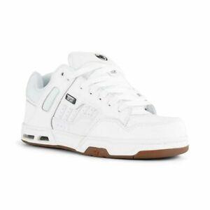 DVS Men's Enduro Heir Shoes Trainers White / Gum Various Sizes