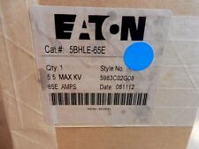 Eaton Cat# 5BHLE-65E HLE Bolt-In Type Style 5983C02G08 5.5KV 65E Amps Fuse NIB
