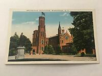 Vintage Postcard Unposted Smithsonian Institution   Washington DC