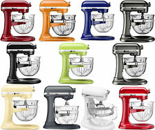 New KitchenAid Stand Mixer KF26M2X 6-Qt Pro 600 With Glass Bowl 11 Colors