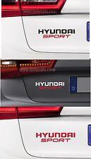 For HYUNDAI  'HYUNDAI SPORT' VINYL CAR DECAL STICKER   I20 I30  - 195mm x 45mm