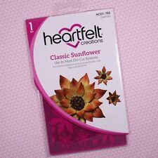 Heartfelt Creations Cut&Emboss Dies by Spellbinders Classic Sunflower HCD2-753