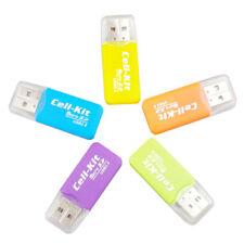 B97 USB 2.0 micro SD Kartenleser Cardreader TF Slot Adapter Card Reader für PC