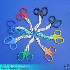 20 Emt Shear Scissors Bandage Paramedic Ems Supplies 550 With Plastic Color Probe