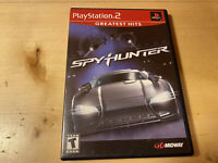 SpyHunter Greatest Hits Sony PlayStation 2 PS2 Video Game Complete  Tested !!