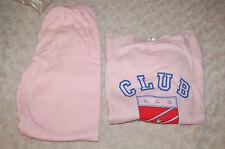 Pijama Vintage Lencería rosa 10 años ,100 % algodón,rosa,bonne calidad