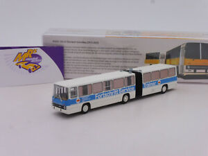 "Brekina 59756 # Ikarus Stadtbus 280.03 Gelenkbus Bj. 1976 "" Fortschritt "" 1:87"