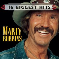 MARTY ROBBINS - 16 BIGGEST HITS CD ~ EL PASO +++ GREATEST / BEST OF *NEW*