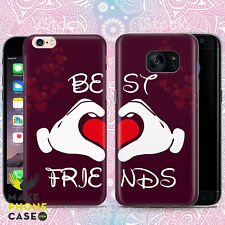 BFF Best Friends Phone Case Cover For Apple iPhone Samsung Galaxy Huawei