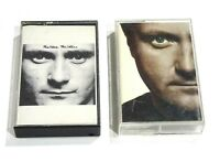 Lot of 2 Phil Collins Music Cassette Tapes Face Value Both Sides