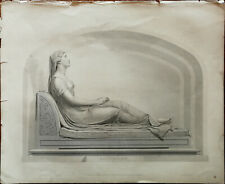 Resignation R H Dyer Sculpture H. Corbould Art Union Monthly Journal Small Print