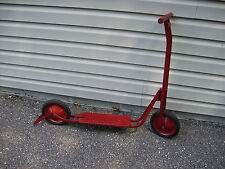 Antique Toy Push Scooter,Full Size.
