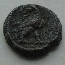 Unidentified Eagle Ancient Bronze Coin Greek Script, 21mm 8.68g, Probus?