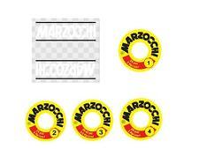 Kit Restauration Stickers Amortisseurs Marzocchi AG Strada Ducati Bevel