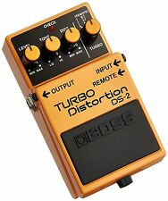 New BOSS DS-2 Turbo Distortion Guitar Effects Pedal From Japan