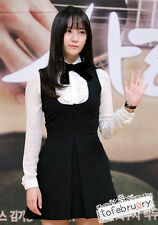 Korean Kpop Band Drama f(x) Krystal Birth of a Beauty White Blouse Black Dress