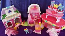 My Little Pony Ponyville Roller Skate Party Cake Cotton Candy Cafe & Boutique