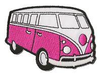 Ecusson patche combi mini van VW patch thermocollant