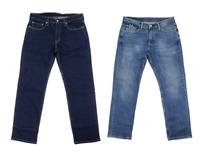 Levi Men's 514 Regular Fit Straight Leg Jeans Dark Blue Denim