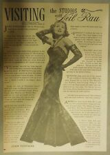 Visiting The Studios with Neil Rau: Featuring Joanne Fontaine from 1940's
