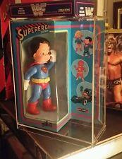 Vintage Superman Supereroi Figure Baravelli Galba MiB 1980 Rare Custom Acrylic