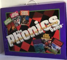 Phonics Game Cassettes Cards Reading Education Home School Better Way To Learn