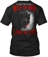 Are You A Wolf Of Odin - It's Better To Be Than Lamb Hanes Tagless Tee T-Shirt