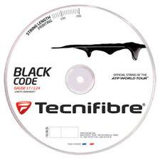 Tecnifibre BLACK Code 16 Gauge 1.28 mm Reel 660' Tennis String US STOCK