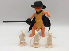 """Shrek Prototype Test Shot Toy Action Figure PUSS N' BOOTS SHREK 2 4"""" Tall 2004"""