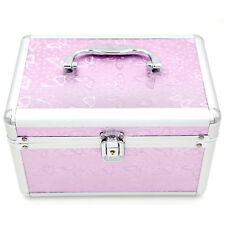 Mesvol Makeup Case Bag  Purple Make Up Box 1 Aluminum 9.5*6.3*5.9 Inch China