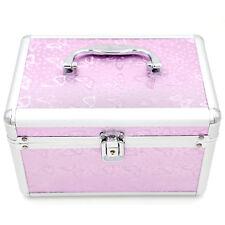 Mesvol Makeup Case Bag  Purple Make Up Box 1 Aluminum 9.5*6.3*5.9 Inch China