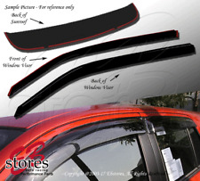 In-Channel Rain Guards Visor Top Sun roof Combo 3pcs Ford Bronco II 1984-1990