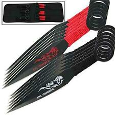 On Target Bullseye 12 Piece Target Throwing Knife Set