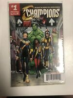 Champions (2016)  #1 (NM) Dynamic Forces # 33/140 Signed By Mark Waid !