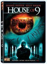 House of 9 (DVD) RARE DENNIS HOPPER HORROR MYSTERY BRAND NEW