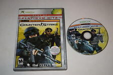 Counter-Strike Microsoft Xbox Game Disc w/ Case
