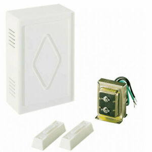 Air King CK250 Two Note Dual Entry Lit Door Chime Kit - White