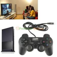 USB 2.0 Dual Shock Wired Gamepad Game Controller Joystick for PC Computer New
