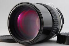 【AB- Exc】 Nikon Ai NIKKOR 135mm f/2.8 Telephoto MF Lens w/Caps From JAPAN #2410