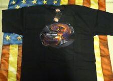 HARLEY DAVIDSON SNAKE SHORT SLEEVE BLACK SHIRT (XL)