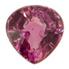 Untreated Fine Pink Sapphire 0.69ct natural loose gemstones