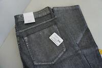 MAC Damen skinny diamond Jeans stretch Hose 40/32 W40 L32 silver shiny blue Neu