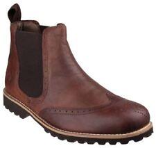 Calzado de hombre Botines color principal marrón Talla 45