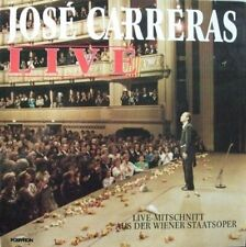 José Carreras Live (1988) [LP]